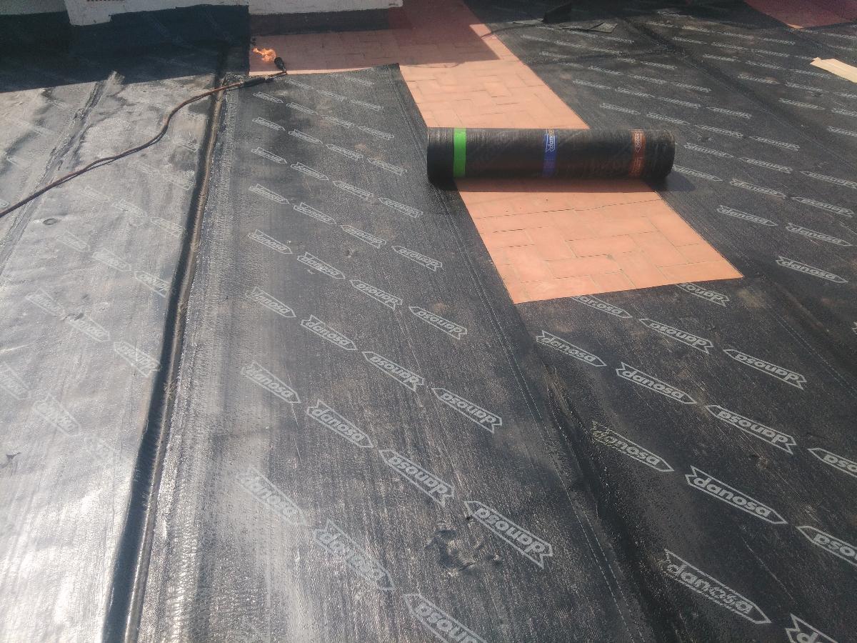 Impermeabilizacion y aislamiento de terraza - Lamina aislante termico ...