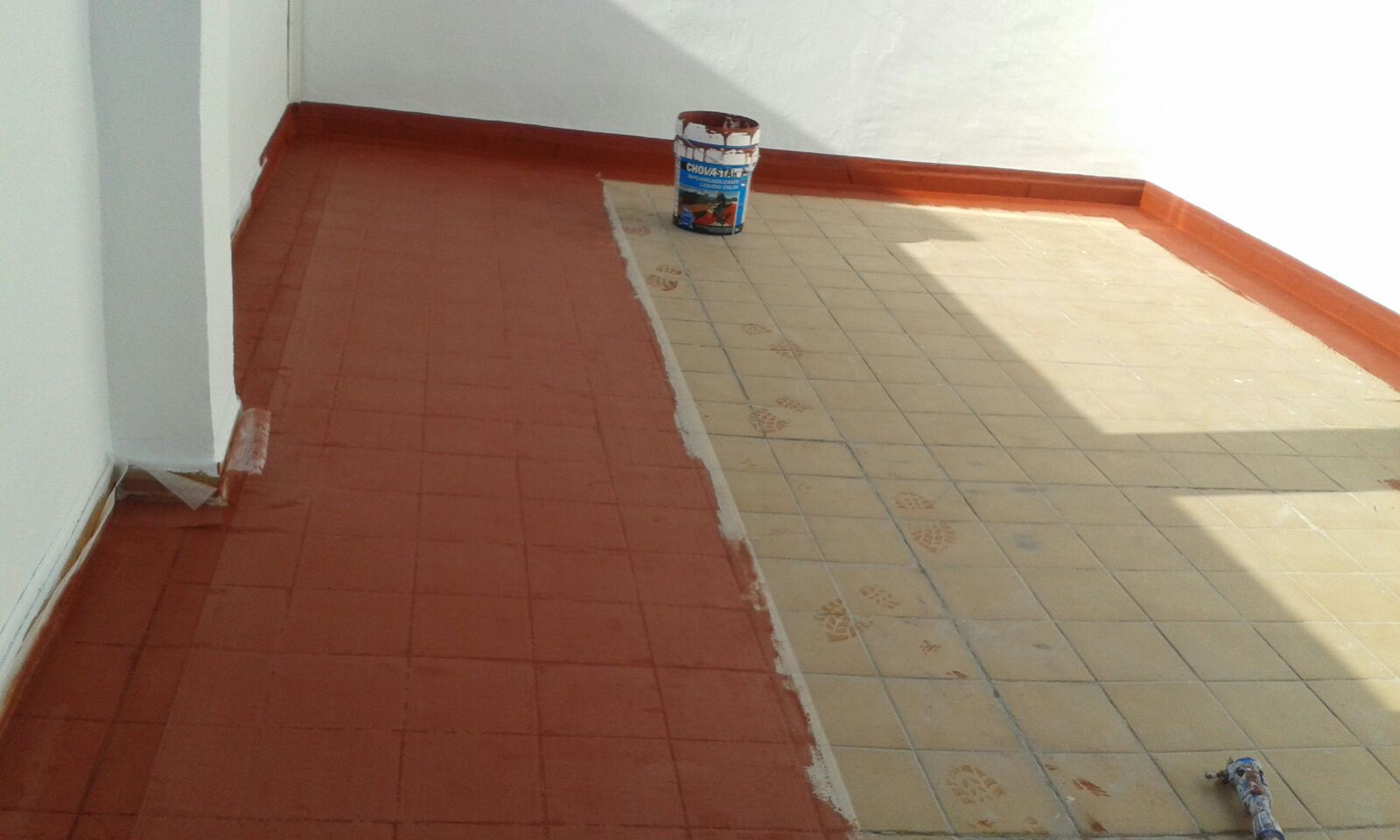 impermeabilizar terraza con caucho materiales de