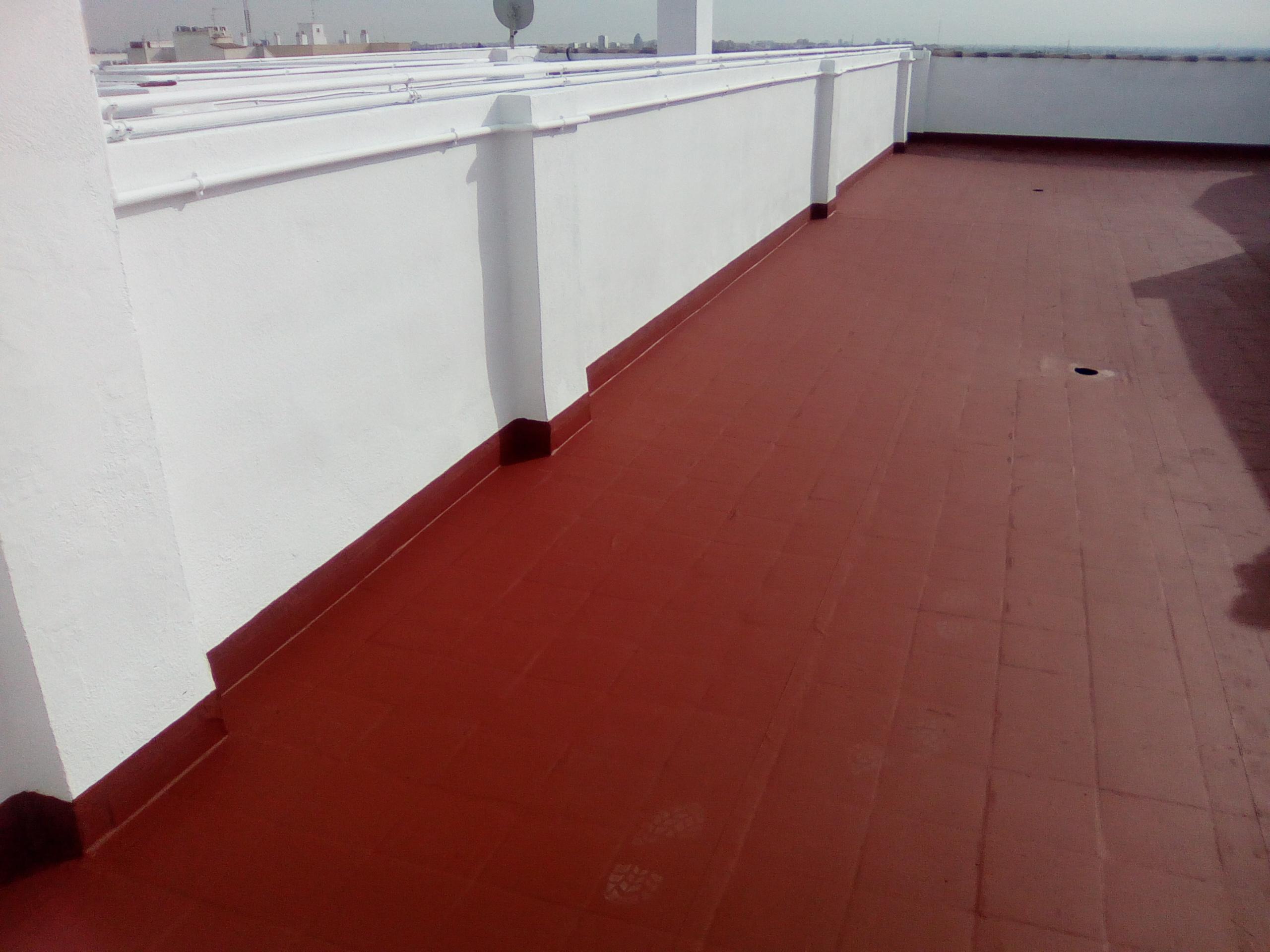 Impertec edifex impermeabilizacion terraza pintura y fibra - Como impermeabilizar una terraza ...